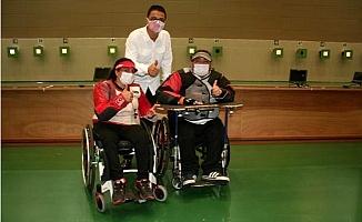 Engelli Çift, Tokyo Olimpiyatları´na Hazırlanıyor