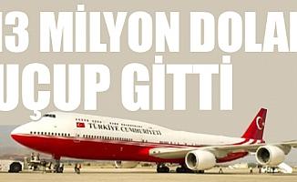 Erdoğan'ın Uçak Filosuna 13 Milyon Dolar Bakım Ücreti