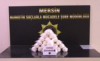 Mersin'de 12 Kilogram Metamfetamine 8 Gözaltı
