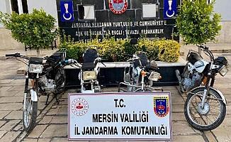 Motosiklet Hırsızları Güvenlik Kamerasından Yakalandı