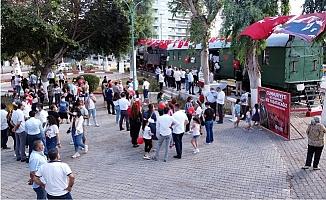 Atatürk'ün Treni Tarsus'da  İlk kez Halka Açıldı