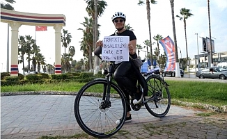 Bisikletliler Trafikte 'Görünür' Olmak İstiyor