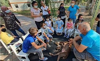Büyükşehir, Çocuklara Hayvan Sevgisini Aşılıyor