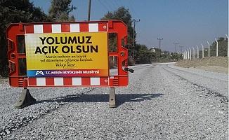 Büyükşehir'den Ovada, Kırsalda Asfalt Çalışması