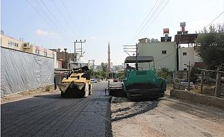 Büyükşehir Silifke'deki Asfaltlama Çalışmalarını Devam Ediyor