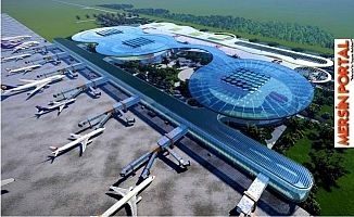 Çukurova Havalimanında Yolcu Sayısı 5 Milyon Garanti Para 12 Milyon