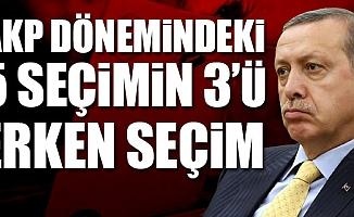 Erdoğan: Erken Seçim Kabile İşidir