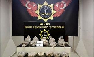 Mersin'de 55,5 Kilo Eroin Ele Geçirildi
