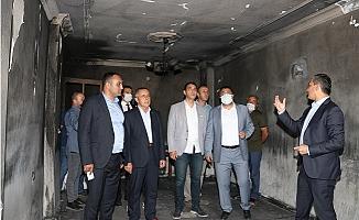 Mersin'den Hatay'a Geçmiş Olsun Ziyareti