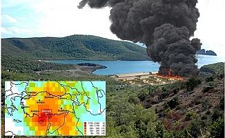 Mersin Diken Üstünde Akkuyu Nükleer Santrali İnşaatında Patlama İddiası