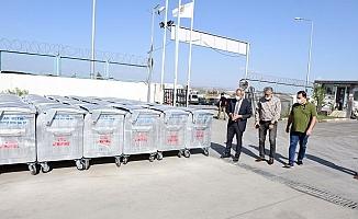 Tarsus Belediyesi Temiz Bir Çevre İçin 1000 Konteynır Satın Aldı.