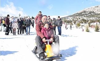 Toroslar İkinci Kar Festivaline Hazırlanıyor