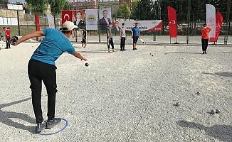 Toroslar'ın Bocce ve Tenis Turnuvasında Coşkulu Final