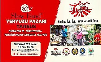 Türkiye'nin 4. Yeryüzü Pazarı Tarsus'ta Açılıyor