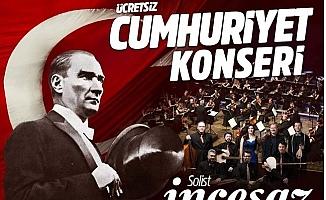 Yenişehir Belediyesinden Cumhuriyet Konseri