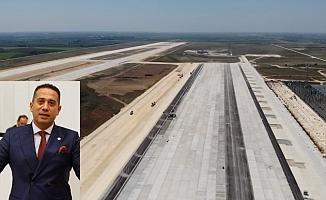 CHP'li Başarır Çukurova Hava Limanı İhalesini Meclis Gündemine Taşıdı