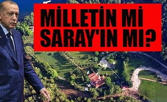 Erdoğan'ın 'Yazlık Sarayı' nı Sır Gibi Saklıyorlar