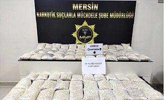 Mersin'de, 66 Kilo Uyuşturucu Hap Ele Geçirildi