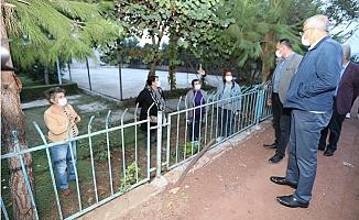 Mezitli'de Siteler Deprem İçin Toplandı