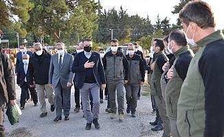 Tarım ve Orman Bakanı Mersin'de