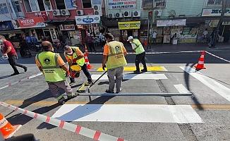 Trafik ve Yaya Güvenliği İçin Büyükşehir'den Kapsamlı Çalışma