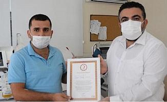 Virüsü Yendi, Plazma Bağışladı