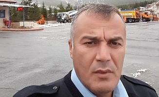 Kalp Krizi Geçiren Trafik Polisi, Hayatını Kaybetti