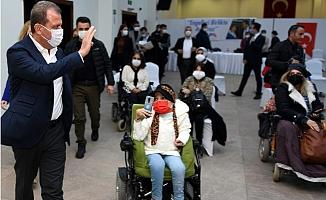 Seçer, Engelli Dernekleri İle Buluştu