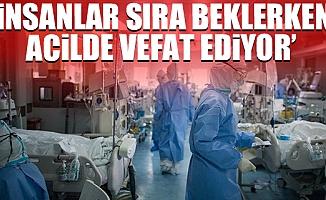 Türk Tabibler Birliğinden Kan Donduran Koronavirüs Açıklaması
