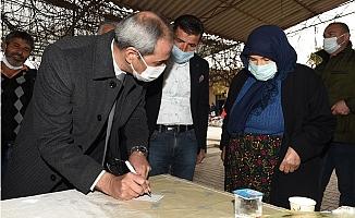 Başkan Bozdoğan Ova Mahallelerini Gezerek Sorunları Dinledi.