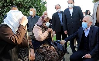 Başkan Gültak, Huzurkent'te 5 Mahalleyi Ziyaret Etti.