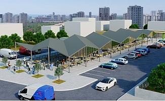 Büyükşehir, Yenişehir'i Kapalı Pazar Alanı İle Canlandıracak