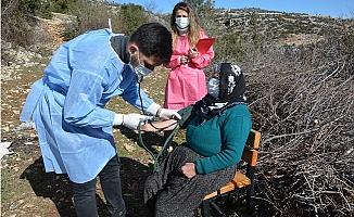 Çadırda Kalan Kadına Belediyeden Sağlık Hizmeti