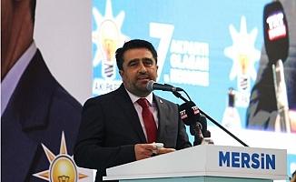 Cesim Ercik Yeniden AK Parti Mersin İl Başkanlığına Seçildi