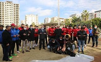 Futbolcular Koç Keserek, Virüssüz Sezon İçin Dua Ettiler