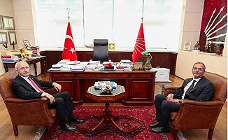 Haluk Bozdoğan, Kemal Kılıçdaroğlu İle Buluştu.