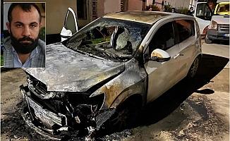 Mersin'de Rent A Car Firmasından Kiraladığı Aracı Husumetlisi Yaktı