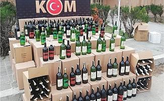 Silifke'de Bin 291 Litre Sahte İçki Ele Geçirildi
