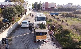Tarsus Belediyesi 40 Kişilik Ekip İle Temizlik Seferberliği Başlattı.