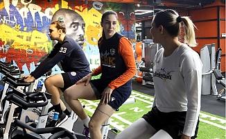 Yenişehir Belediyesi Çukurova Basketbol Eksik Çalıştı.
