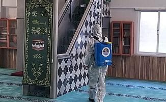 Yenişehir'de İbadethaneler ve ASM'ler Dezenfekte Ediliyor