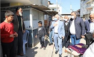 Başkan Gültak'dan Yeşilçimen Mahallesine Ziyaret