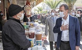 Başkan Seçer'den Tarsus Esnaflarına Ziyaret