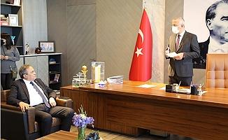 Genel Başkan Yardımcısı Seyit Torun'dan Başkan Tarhan'a Ziyaret