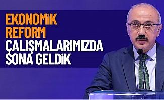"""Lütfi Elvan; """"Ekonomik Reform'da Sona Geldik"""""""