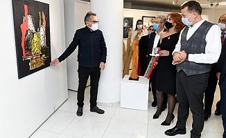 Mersin'de 65 Sanatçının Esrelerinin Yer Aldığı FREKANS A Sergisi Açıldı.