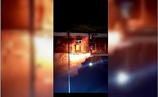 Tarsus'ta İş Yerinde Şüpheli Yangın