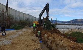 Anamur'da Yol ve Altyapı Çalışmaları Hızla İlerliyor