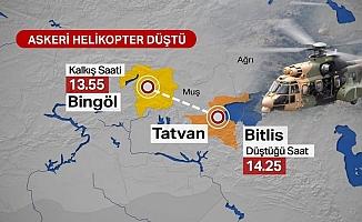 Askeri Helikopter Düştü: 10 Şehit