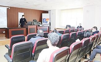 Erdemli Belediyesinden Afet Eğitimi